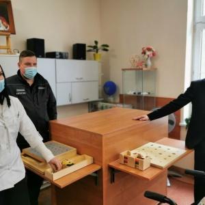 Nowy sprzęt do rehabilitacji od więźniów z Zakładu Karnego w Czarnem